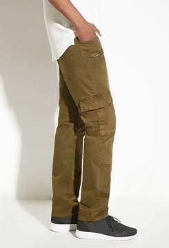 21men 21 MEN INTD Denim Cargo Pants