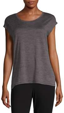 Gaiam Women's Athena Cap-Sleeve Top
