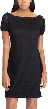 Chaps Women's Lace Off-the-Shoulder Shift Dress
