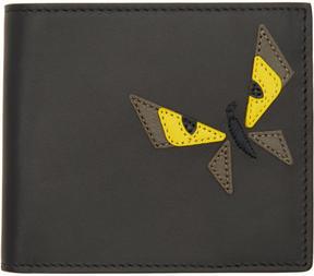 Fendi Black Butterfleyes Wallet