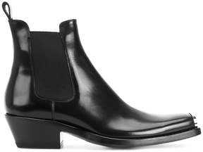 Calvin Klein Chelsea boots with toe cap