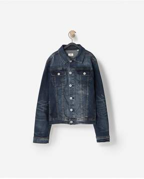 AG Jeans   The Drake Jacket Big Boys - Rinse Used   L   Rinse used