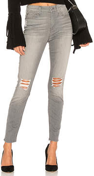 7 For All Mankind The HW Ankle Skinny With Knee Holes.