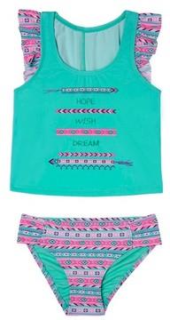 Hula Star Toddler Girl's Bff - Hope, Wish & Dream Two-Piece Tankini Swimsuit