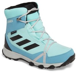 adidas Girl's Terrex Snow Cp Cw Insulated Waterproof Sneaker Boot