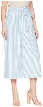 J.o.a. Tie Waist Wide Leg Pants Women's Casual Pants