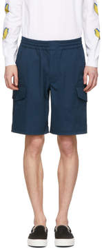 Paul Smith Navy Military Shorts