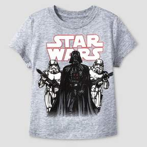 Star Wars Toddler Boys' Stormtrooper Crew T-Shirt - Heather Gray