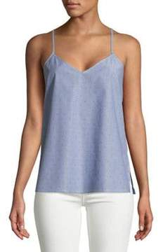 Calvin Klein Jeans Novelty Poplin Cotton Top