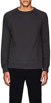 Officine Generale Men's Appliquéd Cotton Sweatshirt