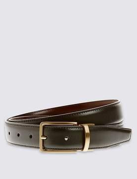 Marks and Spencer Antique Gold Leather Reversible Belt