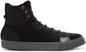 Y-3 Black Sen High Sneakers