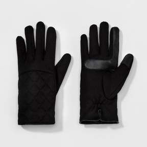 Isotoner Women's smarTouch® Quilted Stretch Glove - Black