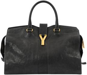 Saint Laurent Chyc leather tote - BLACK - STYLE