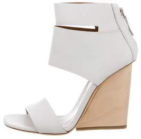Vic Matié Leather Wedge Sandals w/ Tags