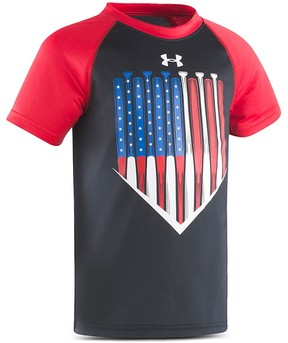 Under Armour Boys' American Batter Raglan Tee - Little Kid
