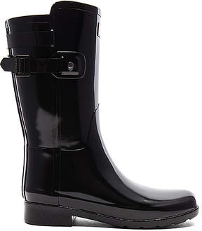 Hunter Refined Back Strap Short Gloss Boot