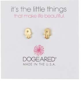 Dogeared It's The Little Things Hamsa Stud Earrings