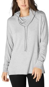 Beyond Yoga Modal Baby Terry Drawcord Cowl Dolman Sweatshirt - Women's