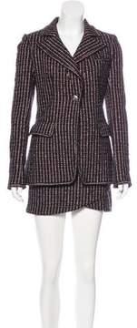 Chanel Wool-Blend Tweed Skirt Suit