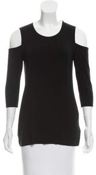 Bailey 44 Cold-Shoulder Knit Top