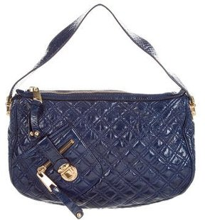 Marc Jacobs Quilted Leather Hobo - BLUE - STYLE