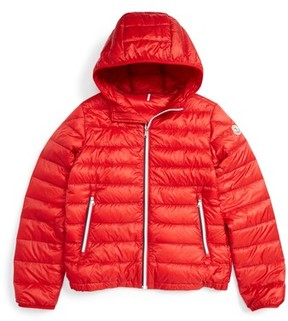 Moncler Toddler Athenes Water Resistant Hooded Down Jacket