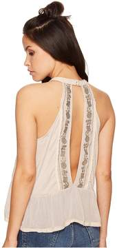 Bishop + Young Daniela Embroidered Tank Top Women's Sleeveless