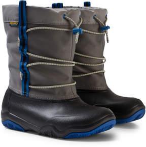 Crocs Black/Blue Jean Swiftwater Waterproof Boot