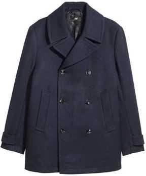 H&M Twill Pea Coat