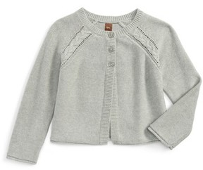 Tea Collection Girl's Agatha Cable Cardigan