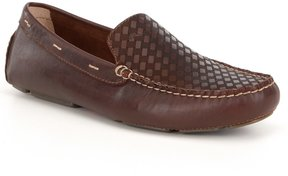 Tommy Bahama Men s Palmerston Laser-Embossed Leather Drivers