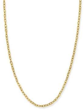 Elizabeth Locke 19k Gold Link Necklace, 35L