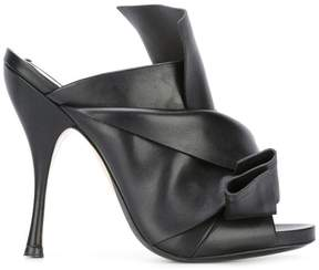 No.21 tie knot mules