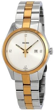 Rado Hyperchrome Diamond Silver Dial Ladies Watch