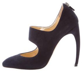 Walter Steiger Cutout Ankle Booties
