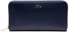 Lacoste Women's Chantaco Pique Leather Zip Wallet