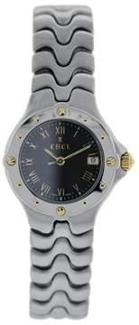 Ebel Sportwave E6087621 Stainless Steel Black Dial 28mm Womens Watch