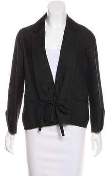Christian Lacroix Silk Notched-Lapel Jacket