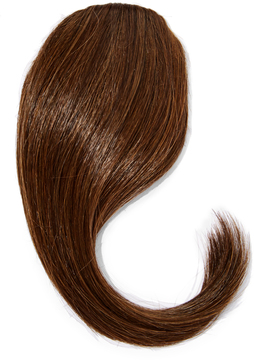 Hairdo. by Jessica Simpson & Ken Paves Chestnut Swept Away Clip-In Bang