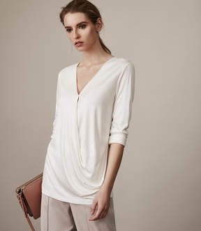 Reiss Rox Wrap-Front Top