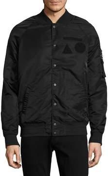 Madison Supply Men's Solid Bomber Jacket
