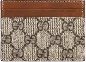 Gucci GG Supreme card case