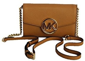 Michael Kors Hudson Large Phone Saffiano Leather Crossbody - Acorn - ONE COLOR - STYLE