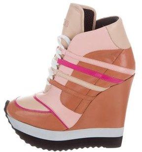 Ruthie Davis Meghan Wedge Sneakers