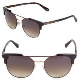 Balmain 53MM Clubmaster Sunglasses