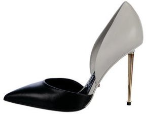 Tom Ford Leather d'Orsay Pumps