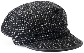 Betmar Women's Caron Patterned Cadet Hat