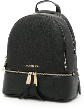 MICHAEL Michael Kors Small Rhea Backpack - BLACK|NERO - STYLE