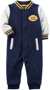 Carter's Baby Boy Fleece Varsity Jumpsuit